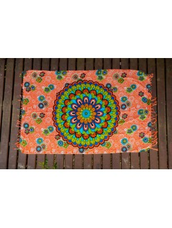 Canga mandala colorida